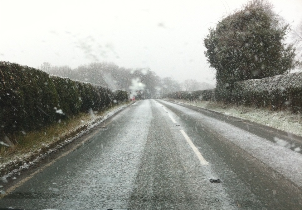 Winter Snow Near Bridgnorth